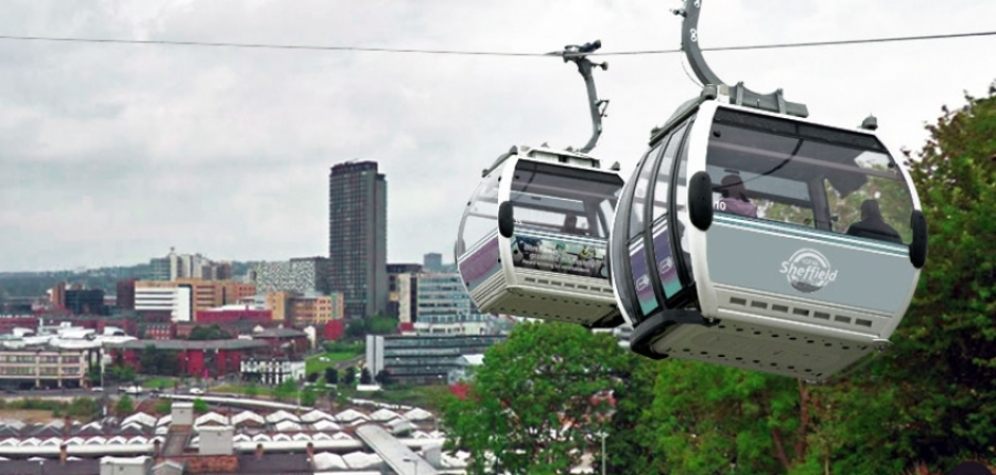 How a Sheffield Cableway system could look