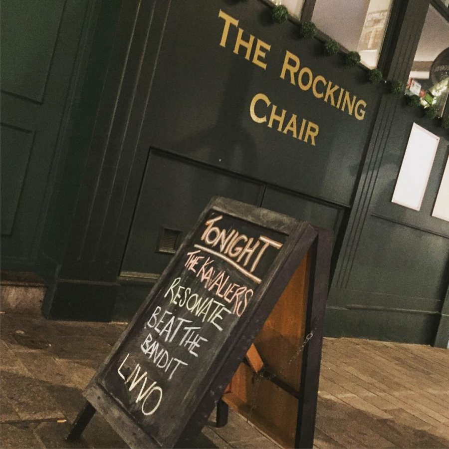 The Rocking Chair venue is to change to Café Totem