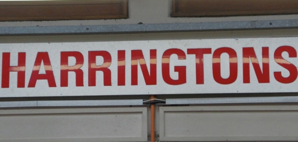 Harrington's clothes shop, Castle Market, Sheffield