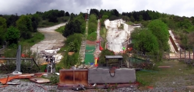 Sheffield's abandoned Ski Village